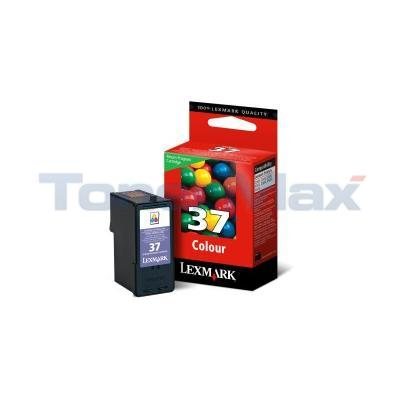 LEXMARK NO 37 PRINT CARTRIDGE TRI-COLOR RP